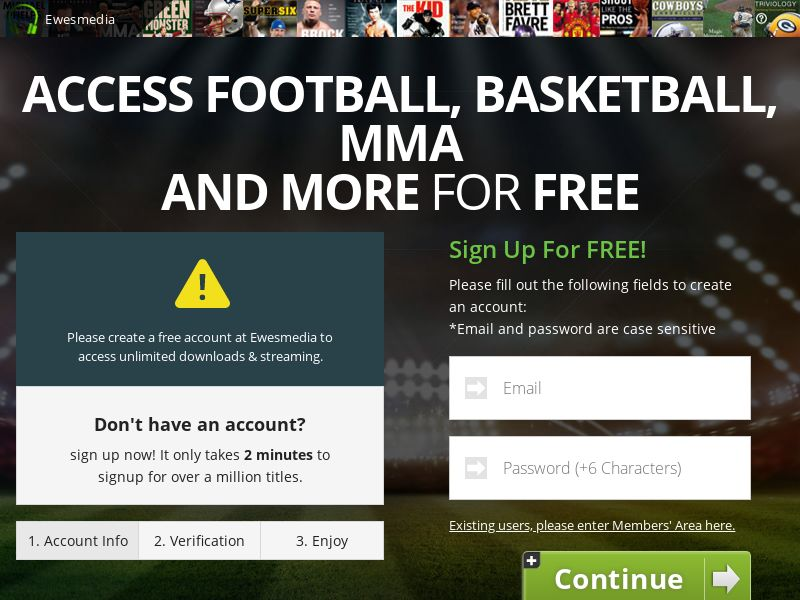 AdCenter Sports Streaming - CPA, VOD Free Trial, CC Submit, Multi-Geo
