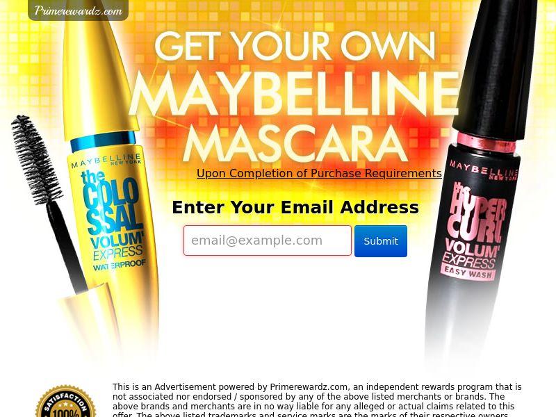 Maybelline XXL Mascara - US