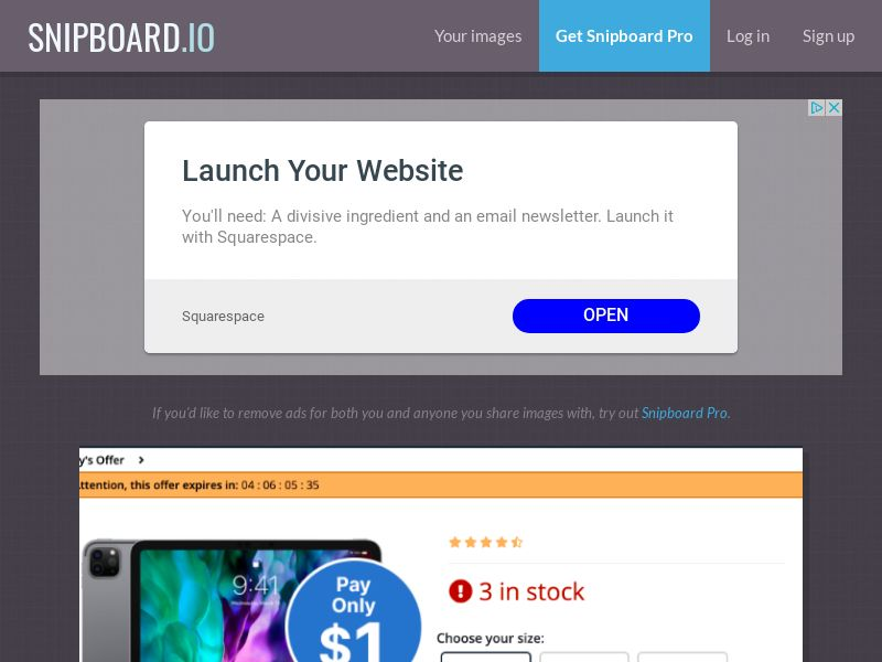 BT - Exclusive iPad Pro US - CC Submit