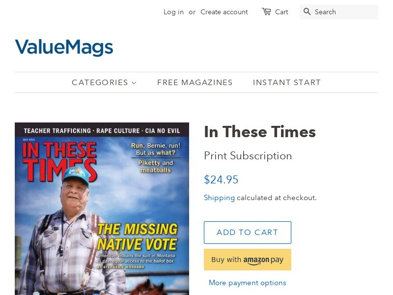 In These Times - Magazine Subscription (58% Off) | US