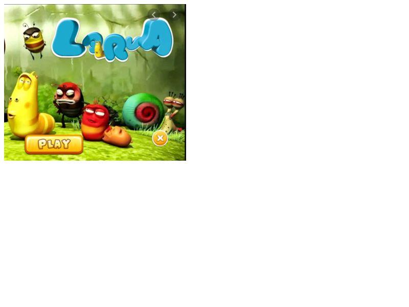 H Larva Games Orange