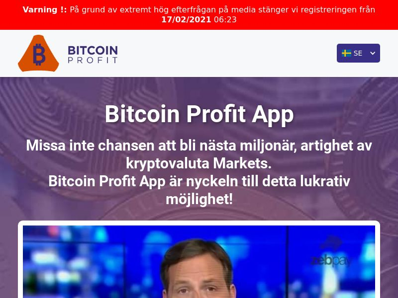Bitcoin Profit Pro Swedish 2291