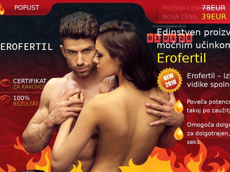 Erofertil SI - potency treatment product