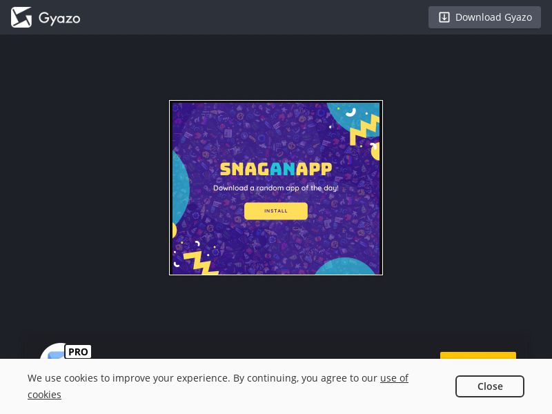 SnagAnApp: App of The Day - Android (FI) (CPI) (Incent)