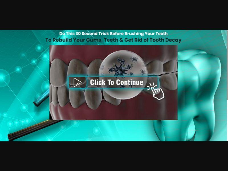 G Force Advanced Dental Health Formula - VSL - Health - SS - [AU, CA, FR, DE, NL, NZ, UK, US]