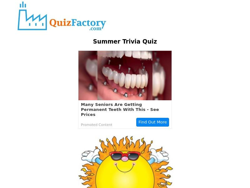 The Summer Trivia Quiz - For Android - Incent OK