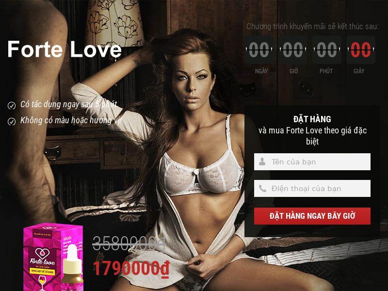 Forte Love VN - female pathogen