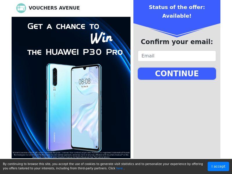 US - Vouchers Avenue - Huawei P30 Pro