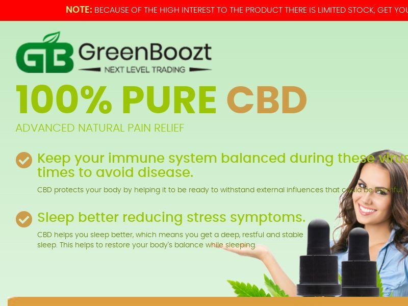 Greenboozt CBD – Trial – DE – CBD