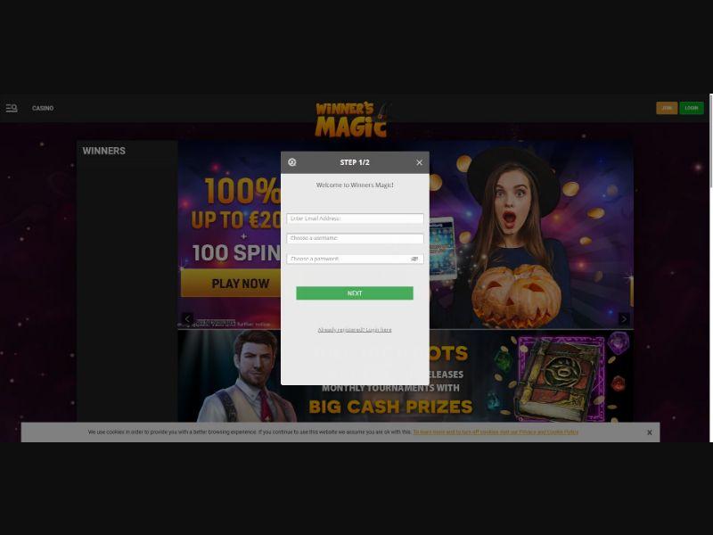 Winners Magic - Casino - SS - [All GEOs]