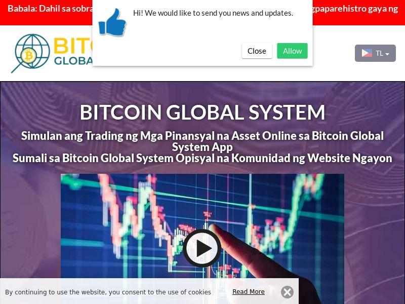 The Bitcoin Global System Filipino 2710