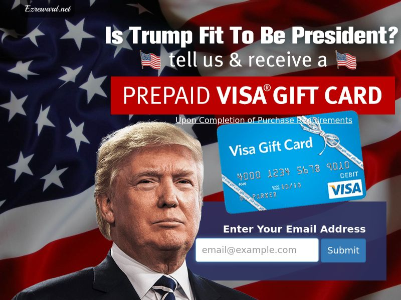 Incent - Email Submit Will Trump Win GC - US