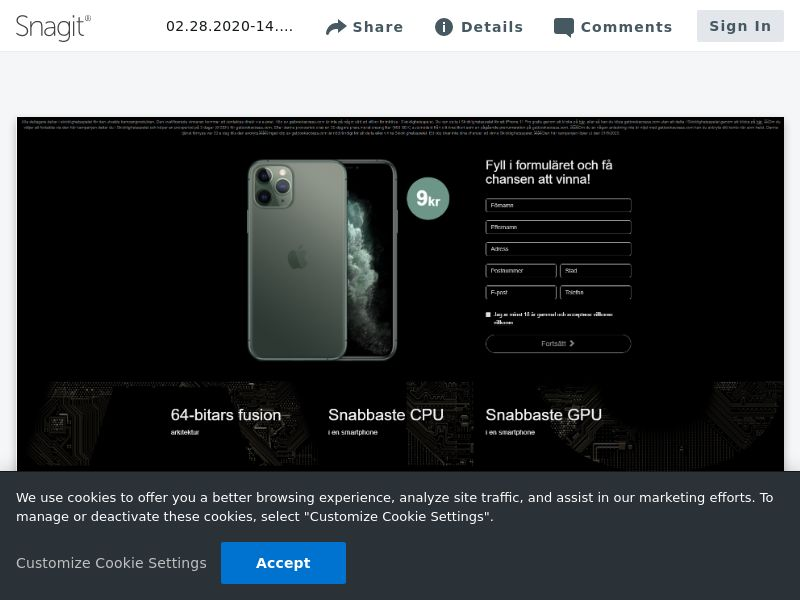 iPhone 11 Pro v4 (Static LP) | SE