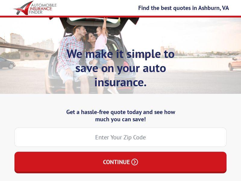 Automobile Insurance Finder (M-F)   US