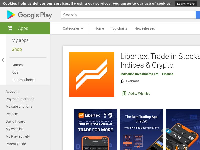 Libertex trading-106716-Android-UK/DE/ES/IT/FR/AT (CPR=registration)