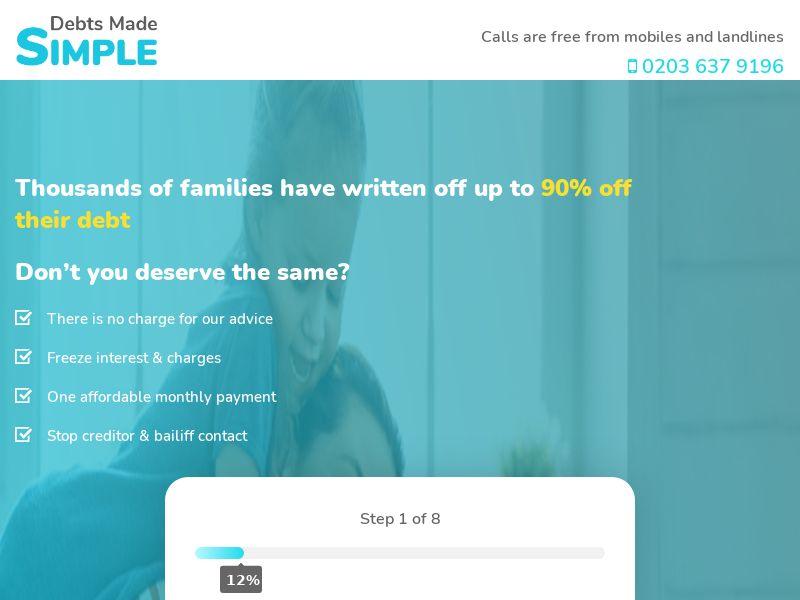 Debt Made Simple CPL [UK]