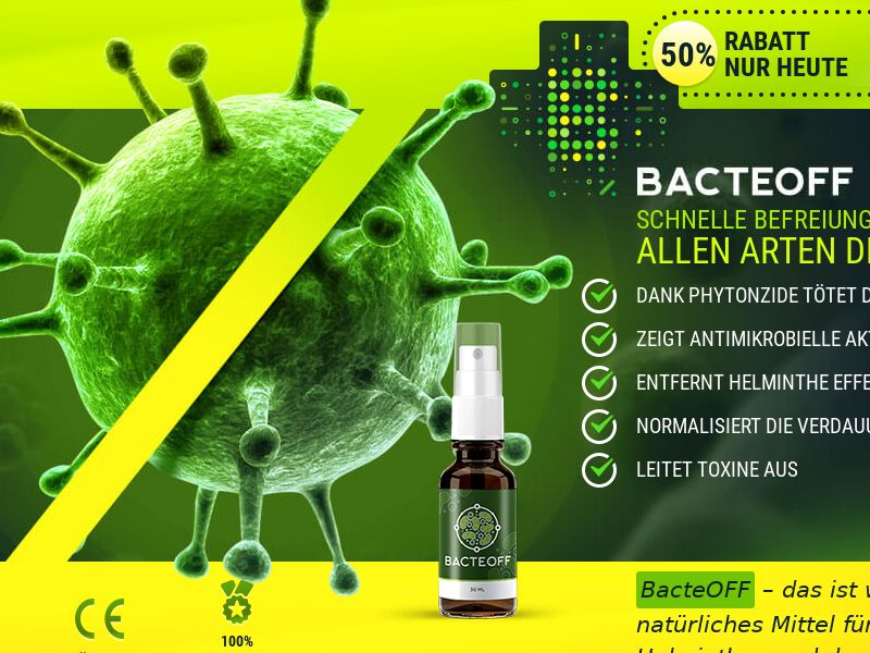 BacteOFF CH - anti-parasite product