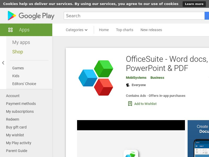 OfficeSuite Android - WW (Direct link) CPA