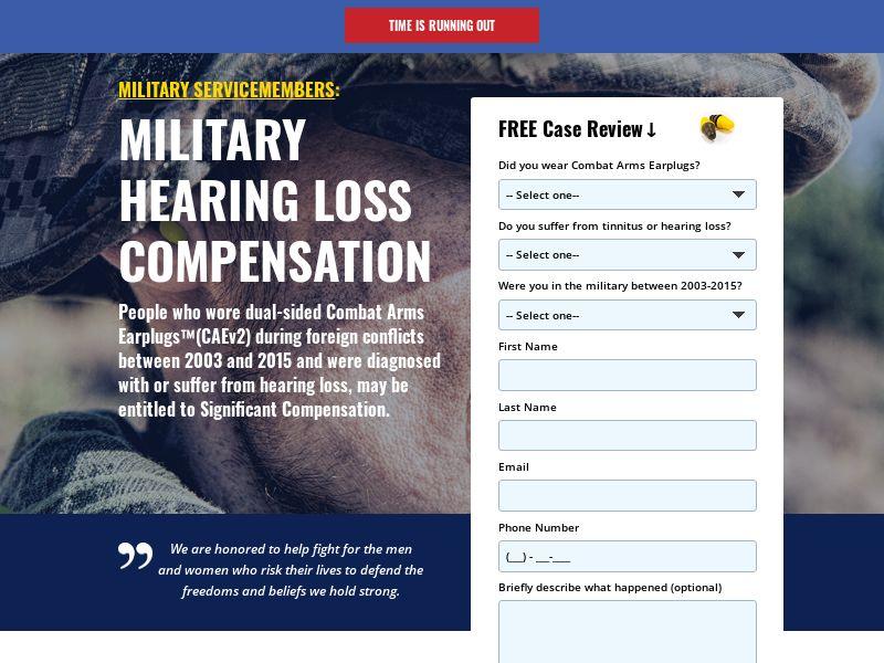 3M Earplug Injury Compensation - CPL - US
