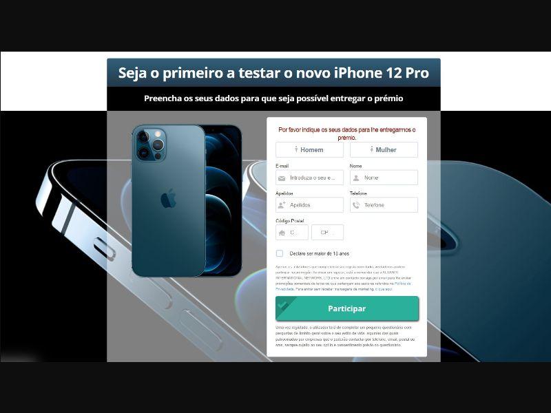 iPhone 12 PT [PT] - SOI registration
