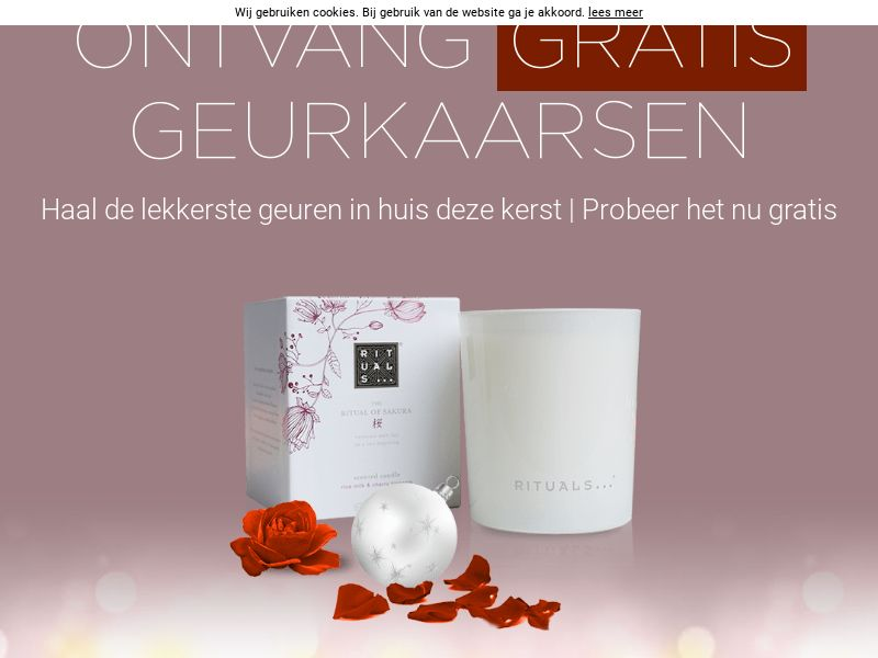 Rituals Xmas Voucher - NL (NL), [CPL], Lotteries and Contests, Single Opt-In, paypal, survey, gift, gift card, free, amazon