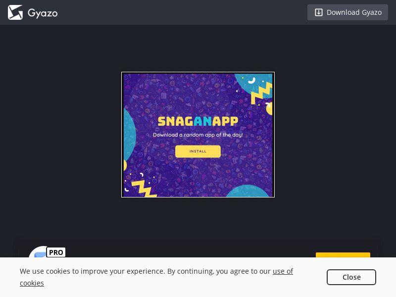 SnagAnApp: App of The Day - iOS (ES) (CPI) (Incent)