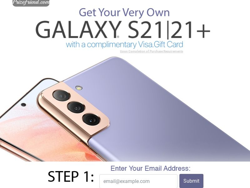 Galaxy S21/21+ Phone - Email Submit