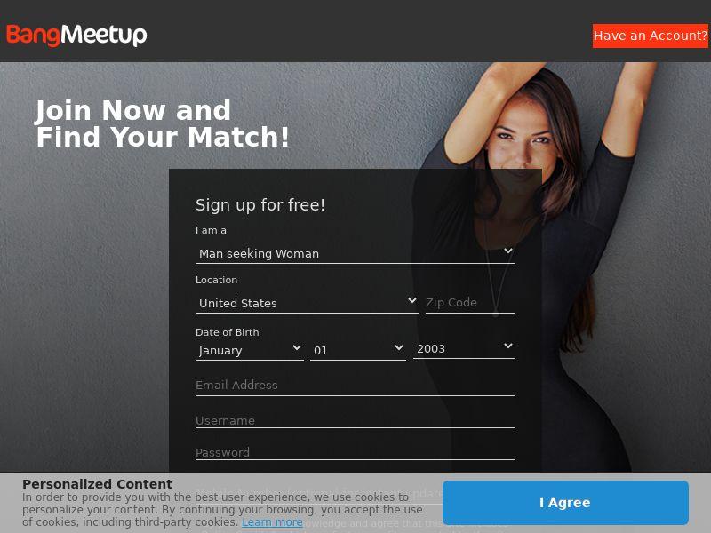 BangMeetup - DOI - Mobile [AU,CA,NZ,US,ZA] (Email,Native,Social,Pop,PPC) - CPL {Check for Caps}