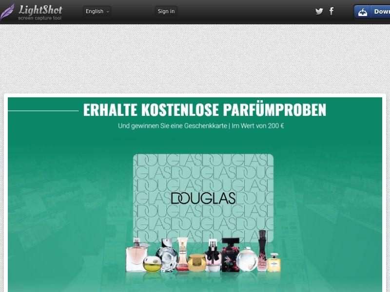 LeadsWinner - Douglas Giftcard (DE) (CPL) (Personal Approval)