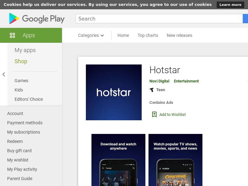 Hotstar Android IN (CPA)