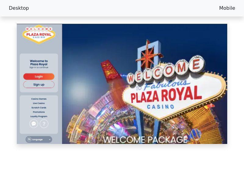 Plaza Royal - [CPA] - [MX, CL, PE, CA, FI, NZ]