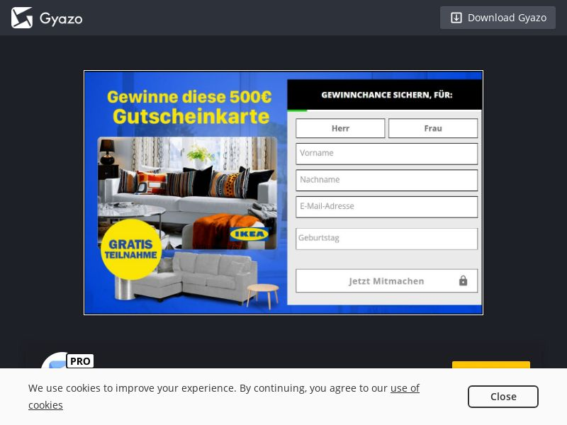 Win an IKEA Voucher (DE) (CPL)