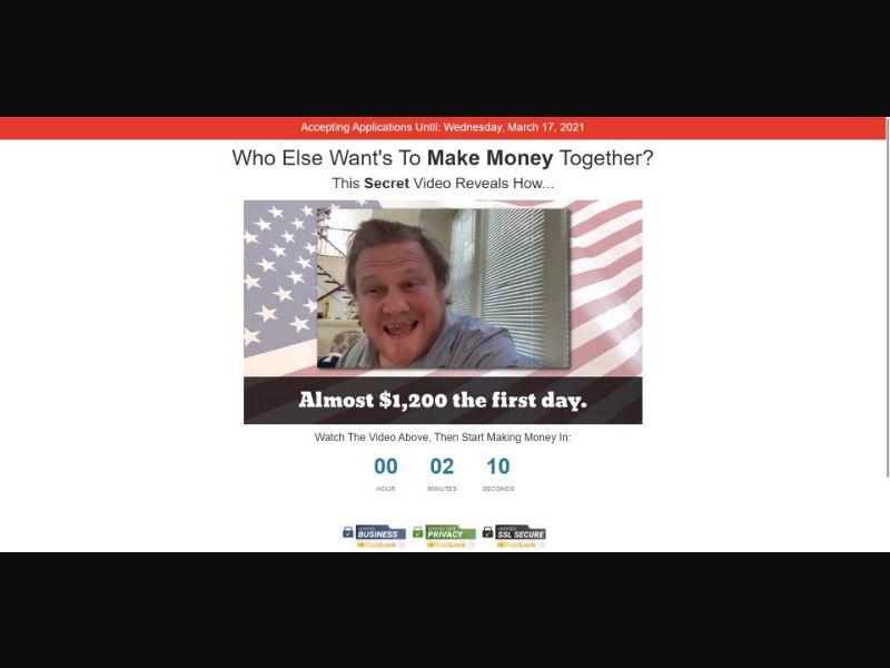 Jens Income Team $67 CTC - VSL - Biz Opp - SS - [CA, US]