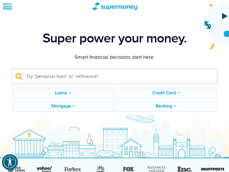 Supermoney Personal Credit Cards US   CPA