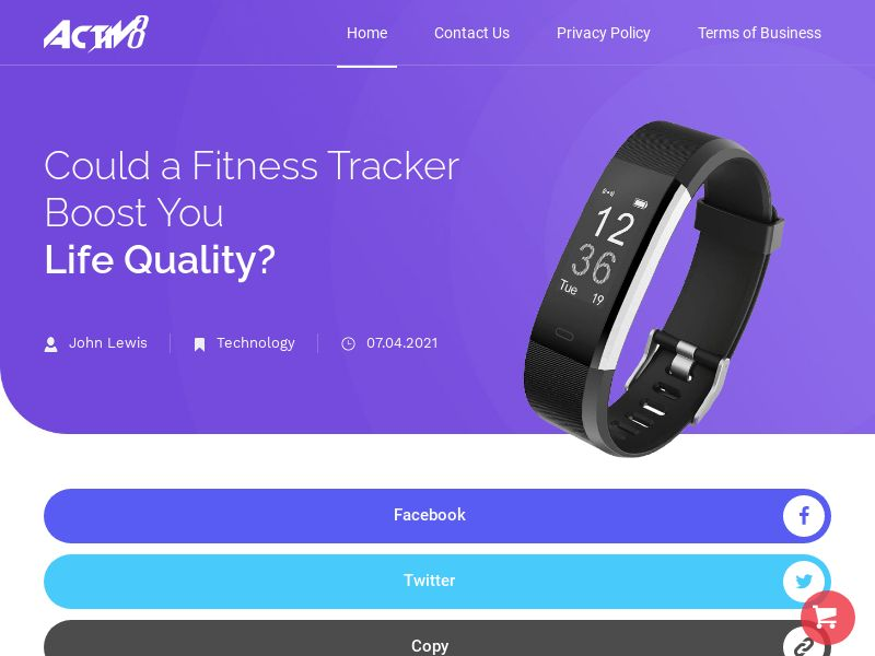ActiV8 Fitness Tracker - All Languages