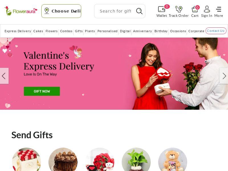Floweraura.com CPS - India
