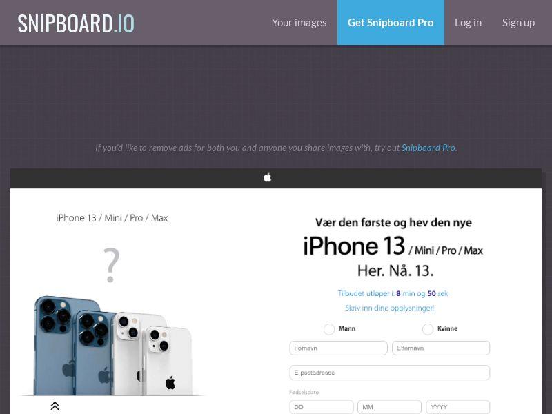 NectarContests - iPhone 13 NO - SOI