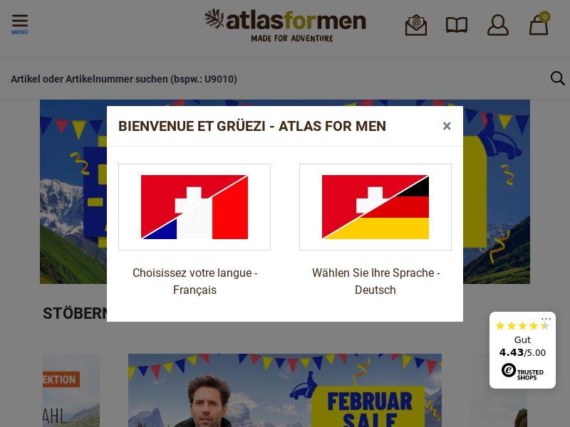 Atlas for Men - CH