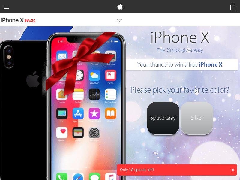 Quiztionnaire - iPhone X Christmas [UK] | SOI | Responsive