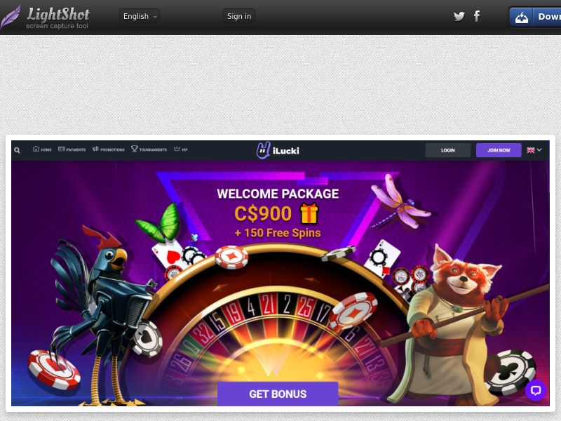 iLucki Casino (AU, CA) (CPS) (Personal Approval)