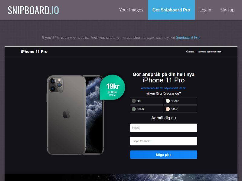 37610 - JP - Advantage Win - iPhone 11 Pro Choose Colour Black - CCsubmit
