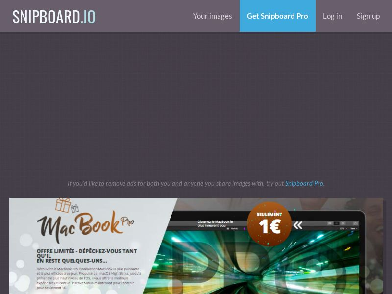 MyeBooky - MacBook Pro LP15 FR - CC Submit