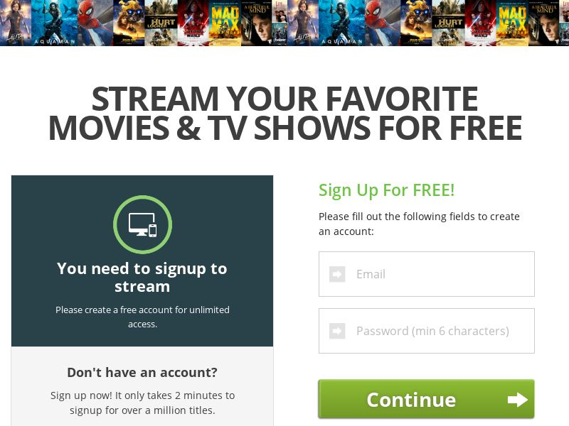 Free TV and Movie Streaming - INCENT - INTL