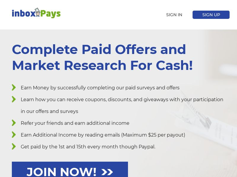 Inbox Pays - Desktop and mobile - DOI US