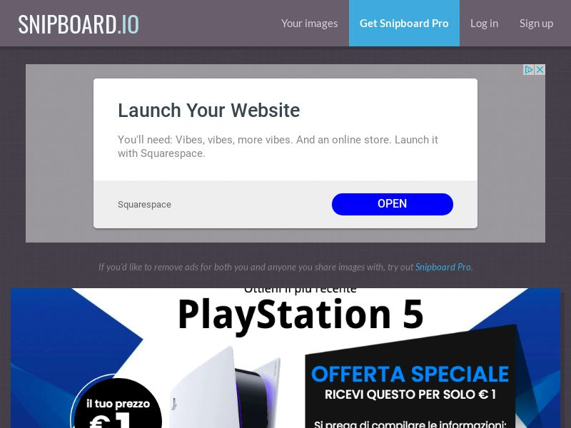 SteadyBusiness - Playstation 5 PS5 (white) LP54 IT - CC Submit