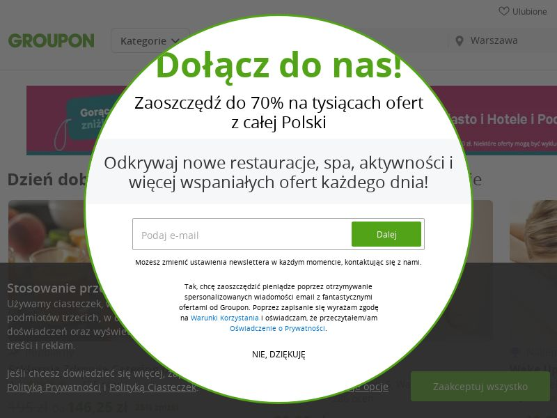 Groupon.pl (PL), [CPS], Accessories and additions, Presents, Transport and Travel, Tours, Services, Online, Sport & Hobby, Sell, shop, gift, holiday
