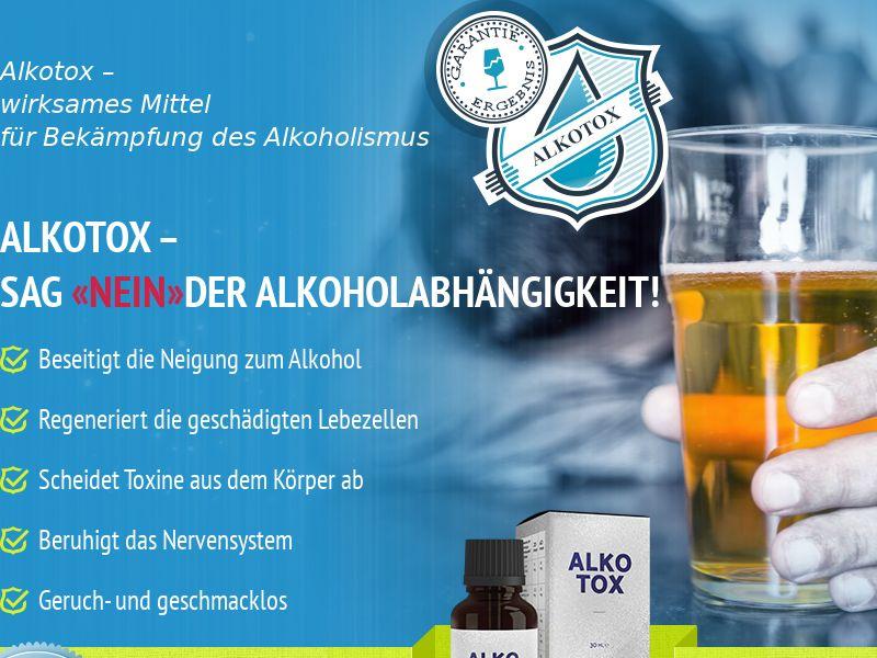ALKOTOX AT - alcoholism treatment product