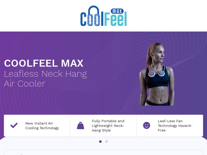 CoolFeel - Portable Air Cooler - CPA - [INTERNATIONAL]