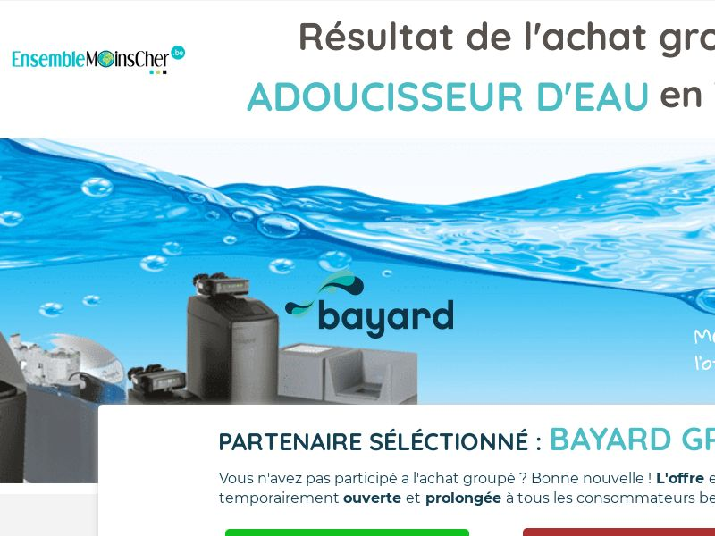 Water Softener by Bayard - CPL - BEFR