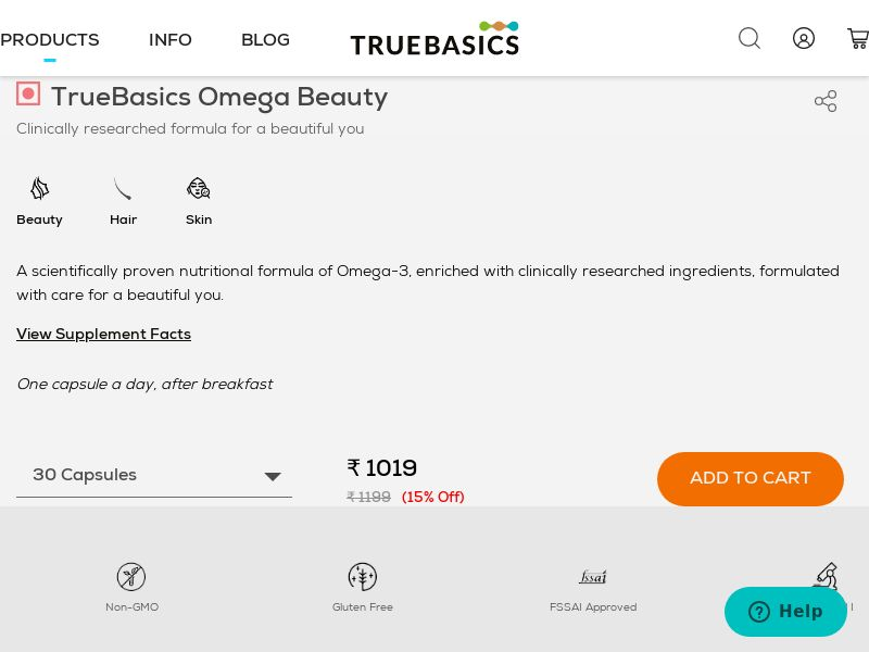 TrueBasics.com CPV - India